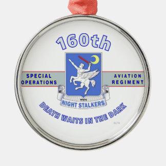 160TH SPECIAL OPERATION AVIATION REGIMENT SOAR METAL ORNAMENT