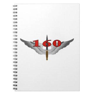 160th Special Operations Aviation Regiment (SOAR) Spiral Notebook