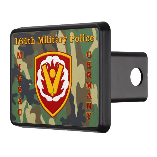 164th Military Police Miesau Germany Tow Hitch Cover