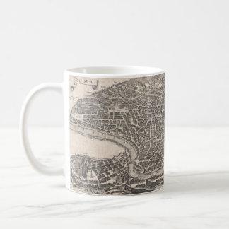 1652 Rome Panorama Map Mug