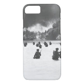 165th Inf. assault wave attacking_War Image iPhone 7 Case
