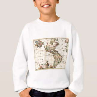 1670 America Map Sweatshirt