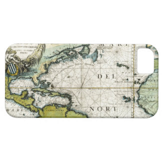 1691 Atlantic Nautical Chart iPhone 5 Case