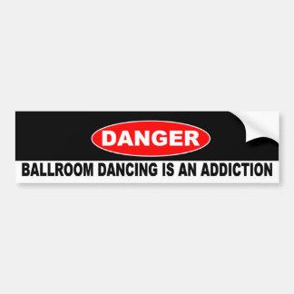 16. Ballroom Addictions Bumper Sticker