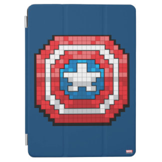16-Bit Pixelated Captain America Shield iPad Air Cover