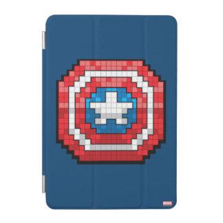16-Bit Pixelated Captain America Shield iPad Mini Cover