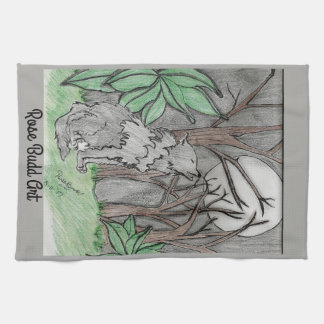 16 by 24 kitchen towel  grey