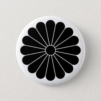16 chrysanthemum 2 inch round button