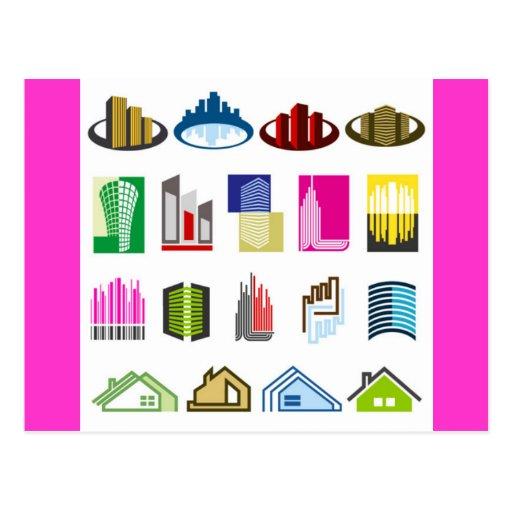 16-Free-Real-Estate-Vector-Logo-types Postcard