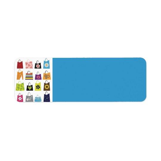 16 Free Vector Shopping Bags Return Address Label