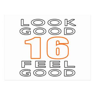 16 Look Good Feel Good Post Card