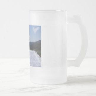 16 Oz. Blue Ridge Mountain Frosted Mug - Ayscue