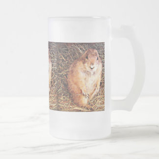 "16 oz. Frosted Beer Mug ""Chubby Gopher"""