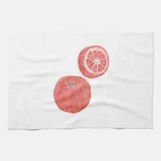 "16"" x 24"" KITCHEN TOWEL - ORANGES"