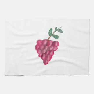 "16"" x 24"" KITCHEN TOWEL - RED GRAPES"