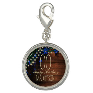 16th 18th 21st 30th 40th 50th 60th 70th Birthday Photo Charm