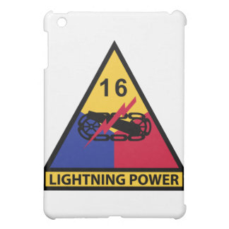 16th Armored Division - Lightning Power Cover For The iPad Mini