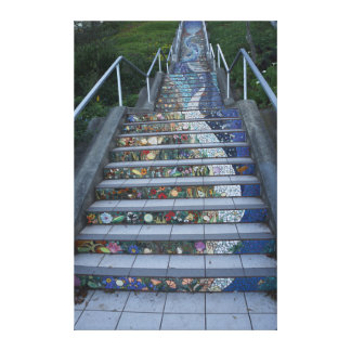 16th Avenue Tiled Steps #2 Canvas