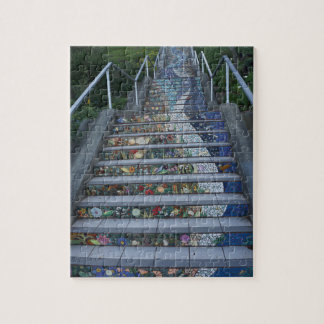 16th Avenue Tiled Steps #2 Jigsaw Puzzle