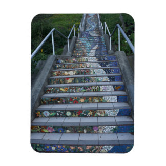 16th Avenue Tiled Steps #2 Magnet
