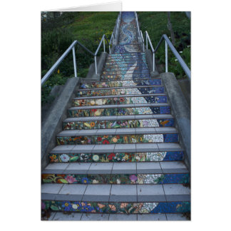16th Avenue Tiled Steps #2 Postcard