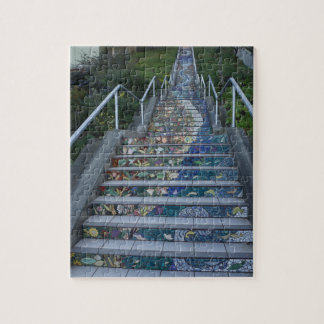 16th Avenue Tiled Steps #4 Jigsaw Puzzle