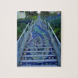 16th Avenue Tiled Steps #5 Jigsaw Puzzle