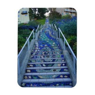 16th Avenue Tiled Steps #5 Magnet