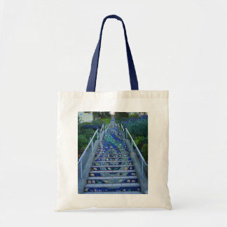 16th Avenue Tiled Steps #5 Tote Bag