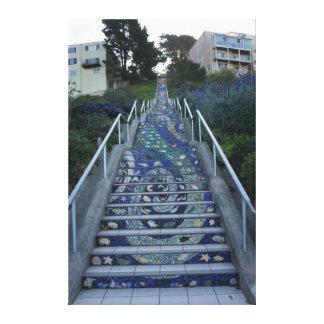 16th Avenue Tiled Steps Canvas