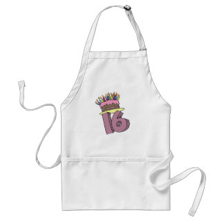 16th Birthday Apron Gift