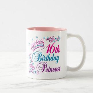 16th Birthday Princess Coffee Mug