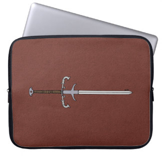 16th Century Bearing Sword Laptop Sleeve