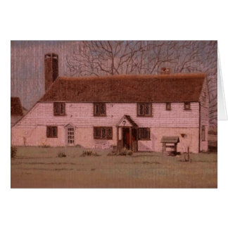 16th Century Cottage Sussex Greeting Card