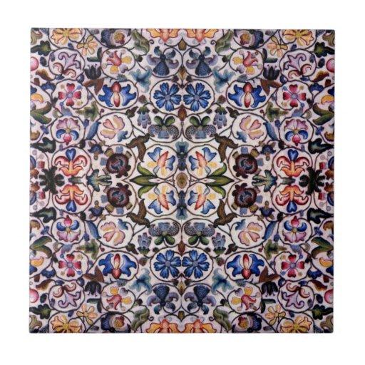 16th Century Design Tile/Trivet