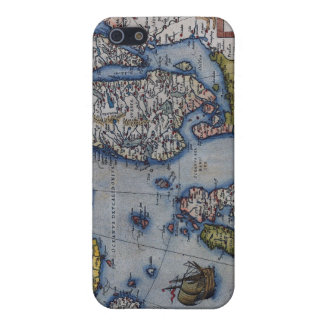 16th Century Map of Scandinavia iPhone 5 Covers