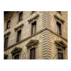 16th century palazzo with ornate faade, Florence, Postcard