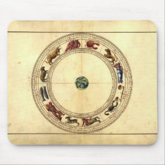 16th Century Zodiac Mouse Pad