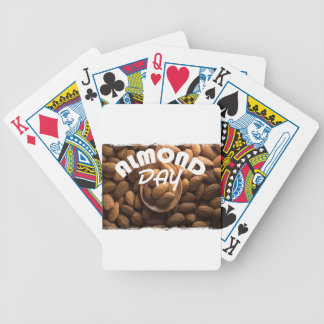 16th February - Almond Day - Appreciation Day Bicycle Playing Cards