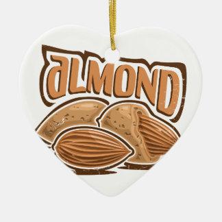 16th February - Almond Day - Appreciation Day Ceramic Ornament