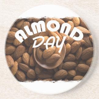 16th February - Almond Day - Appreciation Day Coaster