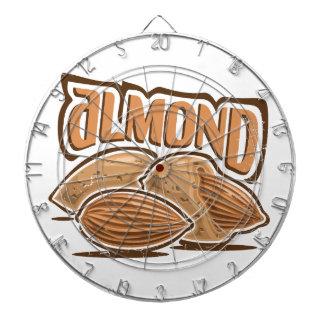 16th February - Almond Day - Appreciation Day Dartboard