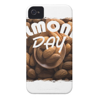 16th February - Almond Day - Appreciation Day iPhone 4 Cases