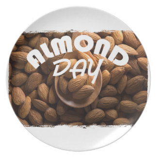 16th February - Almond Day - Appreciation Day Plate