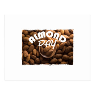 16th February - Almond Day - Appreciation Day Postcard