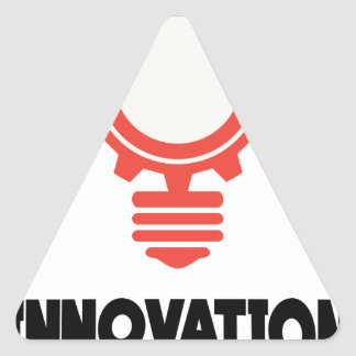16th February - Innovation Day - Appreciation Day Triangle Sticker