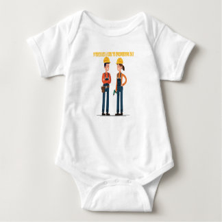 16th February Introduce a Girl To Engineering Day Baby Bodysuit