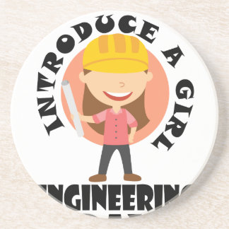 16th February Introduce A Girl To Engineering Day Coaster