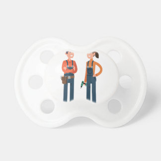 16th February Introduce a Girl To Engineering Day Pacifier