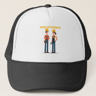 16th February Introduce a Girl To Engineering Day Trucker Hat